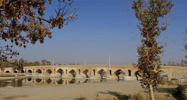 سرانجام مرحله سوم بازسازی پل بابامحمود فلاورجان