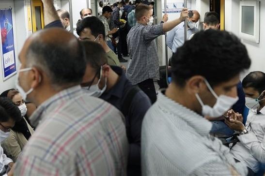 شرایط مترو تهران در روز اوّل تعطیلی دوهفته ای