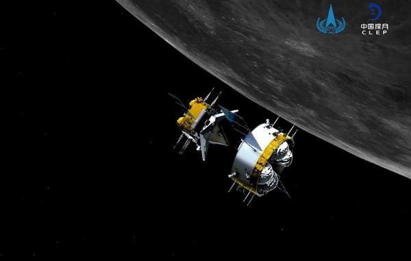 برای نخستین بار عملیات اتصال اتوماتیک در مدار ماه توسط چین انجام شد