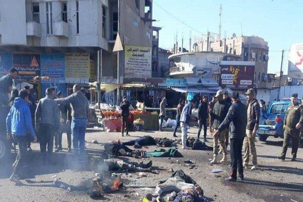 منتقل کننده عوامل حملات انتحاری به میدان الطیران بغداد بازداشت شد