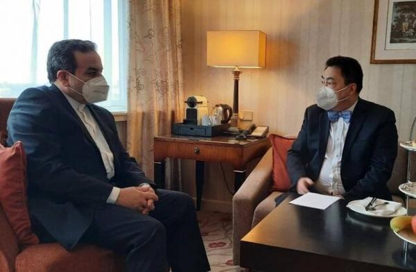 رایزنی رییس هیات چینی با عراقچی در وین