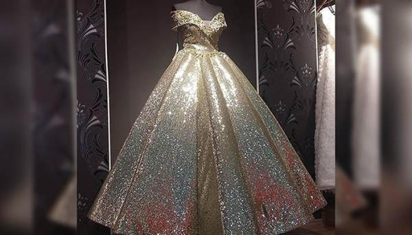 20 مدل لباس عروس لمه و شاین شیک و زیبا
