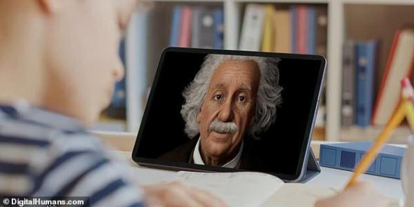 به یاری هوش مصنوعی با آلبرت اینشتین صحبت کنید