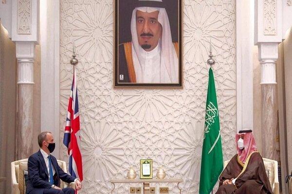 مقابله با ایران؛ محور گفتگوی بن سلمان با وزیر خارجه انگلیس