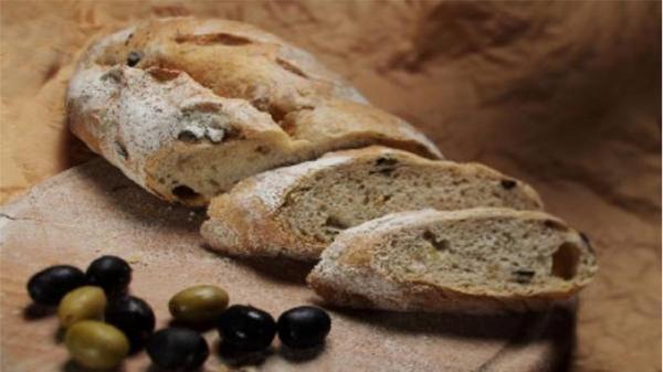 دستور پخت نان زیتون یونانی