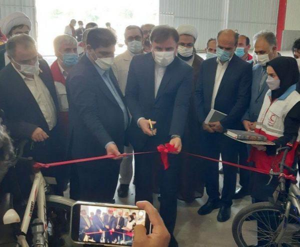 افتتاح استودیو هلال گیلان با حضور استاندار و رئیس جمعیت هلال احمر کشور در لنگرود