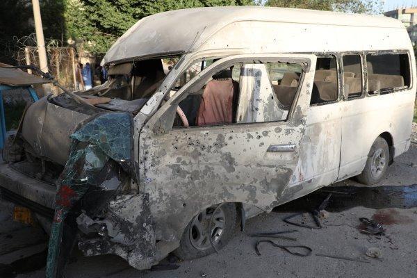انهدام یک خودرو مقابل مسجد اهل البیت در کابل، انفجار دوم