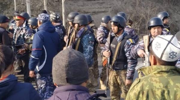 دوئل مسلحانه در مرز قرقیزستان و تاجیکستان