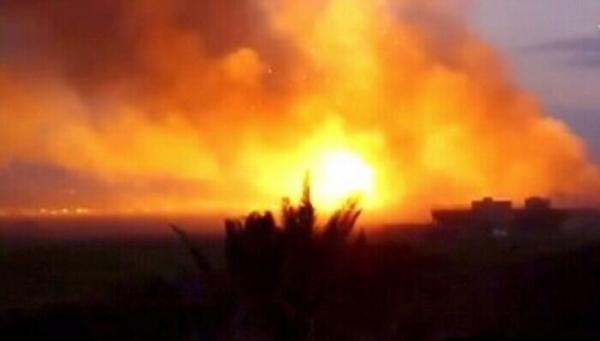 حمله راکتی به پایگاه آمریکا در سوریه