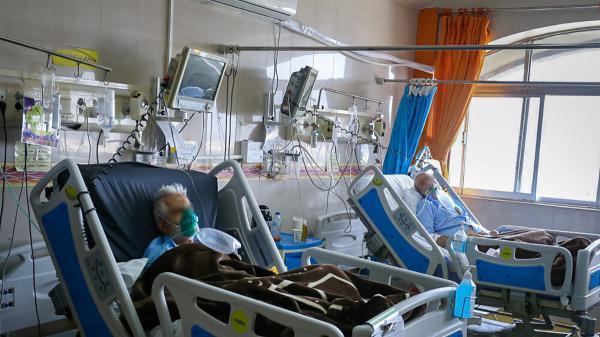 بیماران کرونایی گلستان کف زمین بیمارستان ها می خوابند