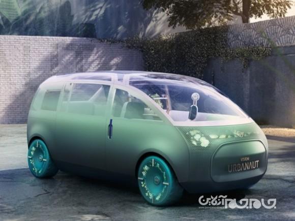 ایده ای برای سفرهای اشتراکی آینده؛ کانسپت مینی Vision Urbanaut معرفی گردید