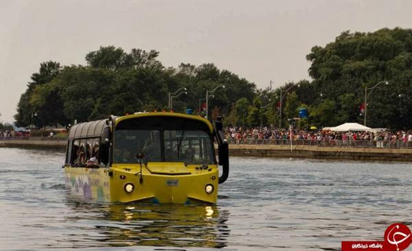 سفر روی آب را با این اتوبوس تجربه کنید