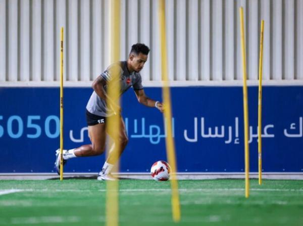 تور برزیل: بازیکن برزیلی الهلال آماده بازی با پرسپولیس شد