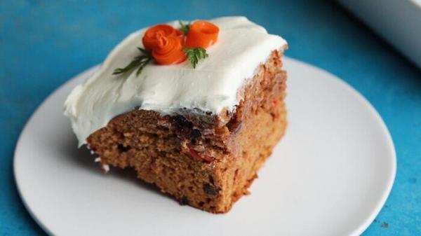 خلق کیک هویج، بدون احتیاج به فر